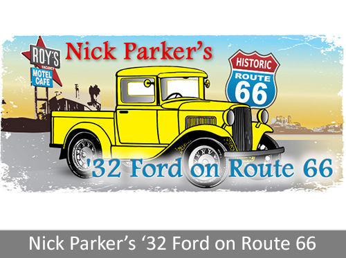 '32 Ford on Route 66
